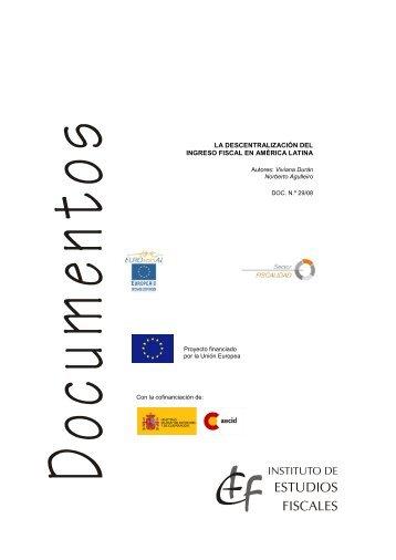 La descentralización del ingreso fiscal en ... - Sector Fiscalidad
