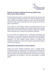 1/7 Redução do impacto ambiental através das práticas lean Autor ...
