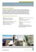 Pyrotechnics & Munitions: Munitions - Chemring Group PLC - Page 3