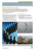 Pyrotechnics & Munitions: Munitions - Chemring Group PLC - Page 5
