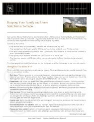 Keeping Your Family and Home Safe from a Tornado - ACE Group