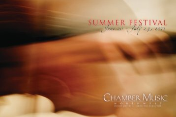 11 summer booklet.pdf - Chamber Music Northwest