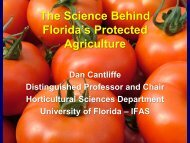 The Science Behind Protected Culture of Fruits and Vegetables
