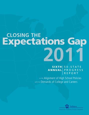 Closing the Expectations Gap 2011 (PDF) - Americas Promise Alliance