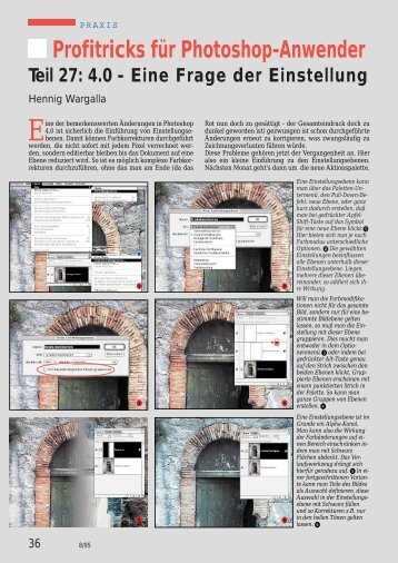 97 Einstellungsebenen - Hennig Wargalla