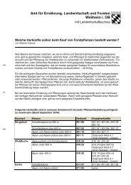 Amt für Ernährung, Landwirtschaft und Forsten Weilheim i.OB - Bayern