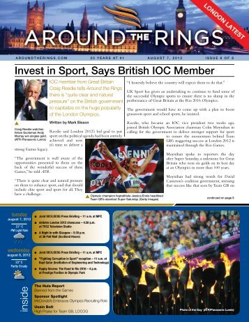 London Latest - Issue 6 - Around the Rings