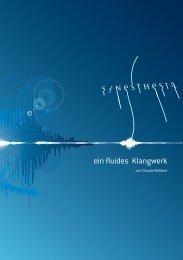ein fluides Klangwerk - Claudia Waldner
