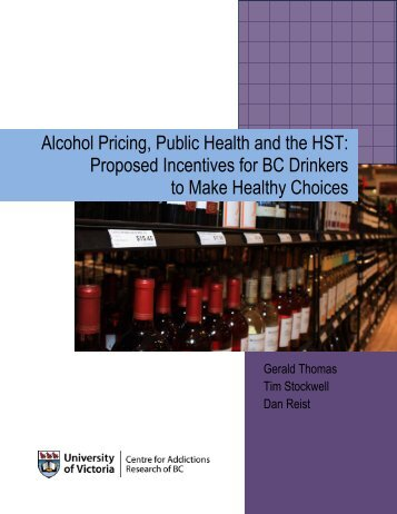 Alcohol pricing, public health and the HST - CARBC