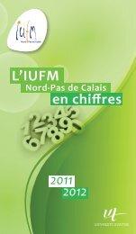 IUFM en chiffres 2011-2012