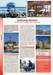 Schleswig-Holstein Holsteinische Schweiz - Kiel - Flensburg