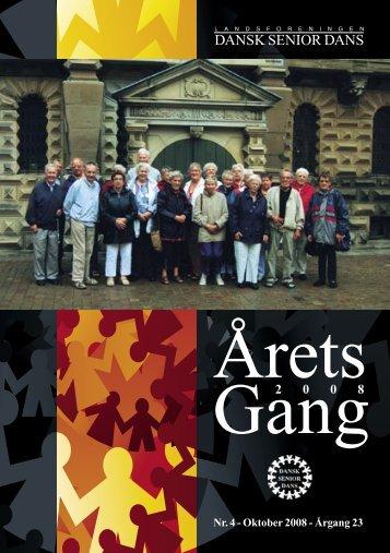 Årets Gang.indd - Landsforeningen Dansk Senior Dans