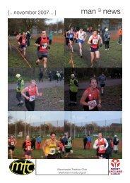 November 2007 - Manchester Triathlon Club