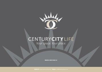 01 March 2009 Newsletter - Century City