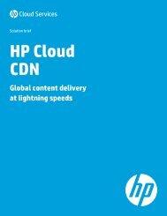 HP Cloud CDN