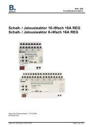 Schalt- / Jalousieaktor 16-/8fach 16A REG Schalt- / Jalousieaktor 8 ...