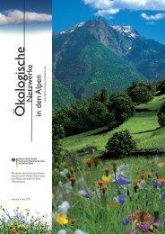 Ö kologische N - Alpine Network of Protected Areas