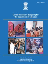 Gender Responsive Budgeting for the Department of Education