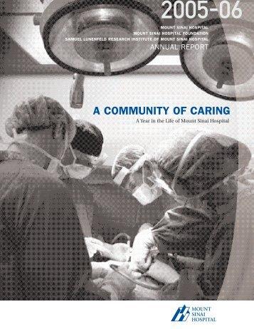 2005 - 2006 - Mount Sinai Hospital