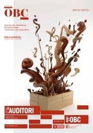 paBLo gonzáLez director titular orquestra simfònica de ... - L'Auditori