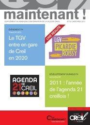 Magazine Creil Maintenant Supplément citoyenneté - Ville de Creil