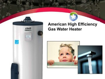 On Demand Presentation - News from American Water Heaters