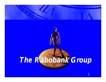 The Rabobank Group - World Bank