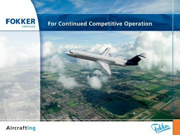 Corporate Brochure of Fokker Services (PDF, 5 MB)