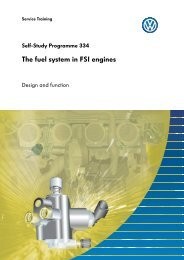 SSP 334 - The fuel system in FSI engines