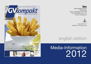 Media-Information english edition - GV-kompakt