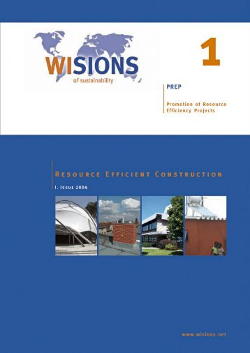 PREP 01 Efficient Construction 2004 - WISIONS of Sustainability