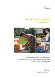 B7-VI Planifier et évaluer la production - Aviforum