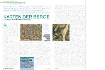 Vom Meßtisch zur Satellitenvermessung ... - Deutscher Alpenverein