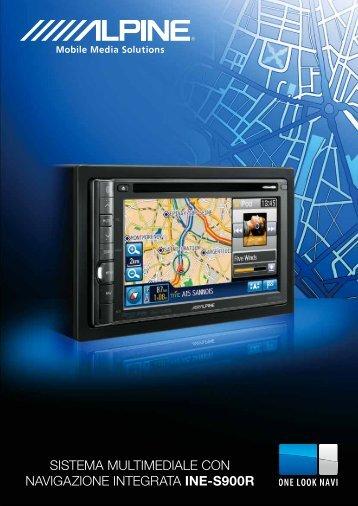sistema multimediale con navigazione integrata ine ... - Alpine Europe