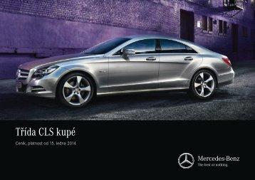 Stáhnout ceník pro třídu CLS (PDF) - Mercedes-Benz