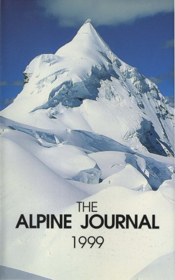 Courting the Great White Snow God - Alpine Journal