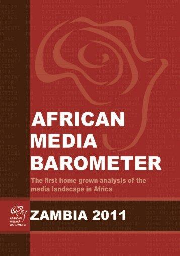 african media barometer zambia 2011 - Friedrich Ebert Stiftung ...