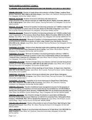 Planning & Treeworks applications 13 November - North Norfolk ...