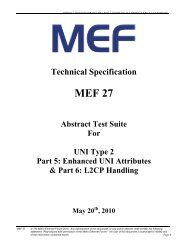 Abstract Test Suite for UNI Type 2 Part 5 & 6 - Enhanced UNI ...