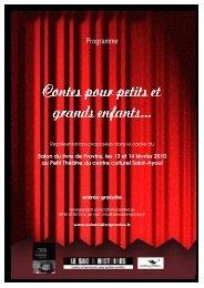 Spectacles de Contes 2010 - Salon du livre de Provins