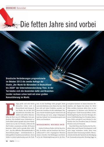 Branche: Die fetten Jahre sind vorbei - FACTS Verlag GmbH