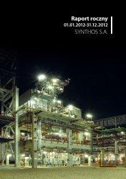 Raport roczny jednostkowy opisowy.pdf - Synthos