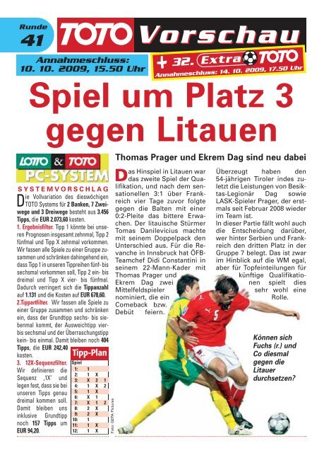 Spiel um Platz 3 gegen Litauen - win2day