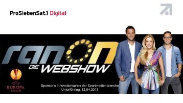 die Präsentation des Projektes downloaden! - SPONSORs Sports ...