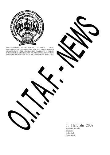 1. Ausgabe 2008 - OITAF