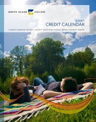 credit calendar - North Island College