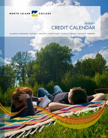credit calendar - North Island College