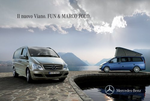Il nuovo Viano. FUN & MARCO POLO. - COL Magazine