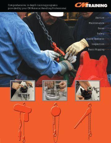 Maintenance - Columbus McKinnon Corporation