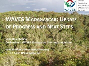 WAVES Madagascar Plan de Travail 2012 - 2013